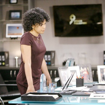 Maya's announcement could change things at Forrester forever on the October 24, 2014 episode of 'The Bold and the Beautiful'
