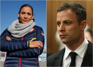 Lolo Jones, Oscar Pistorius