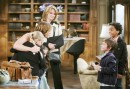 Sami bids an emotional farwell to her family as she and the kids leave Salem on the October 30, 2014 episode of 'Days of Our Lives'