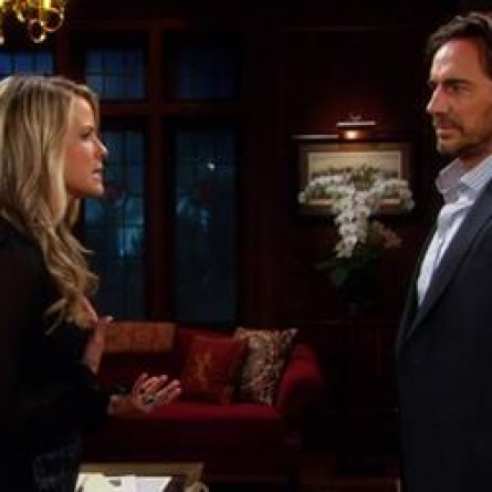 Caroline and Ridge will suffer some of the worst consequences they could imagine as the fallout from their affair continues on the October 30, 2014 episode of 'The Bold and the Beautiful'