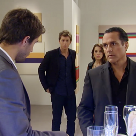 Morgan confronts Sonny with the truth about AJ's murder on the October 30, 2014 episode of 'General Hospital.' Will he tell Michael the truth?