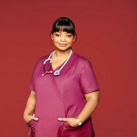 Octavia Spencer as Nurse Jackson on 'Red Band Society'