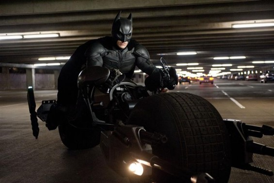 "A scene from ""The Dark Knight Rises""."