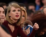 Taylor Swift at Knicks Game