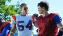 Alan RItchson (Thad) and Darin Brooks (Alex) in 'Blue Mountain State'