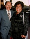 Sherman Hemsley, pictured left next to former co-star Isabel sanford