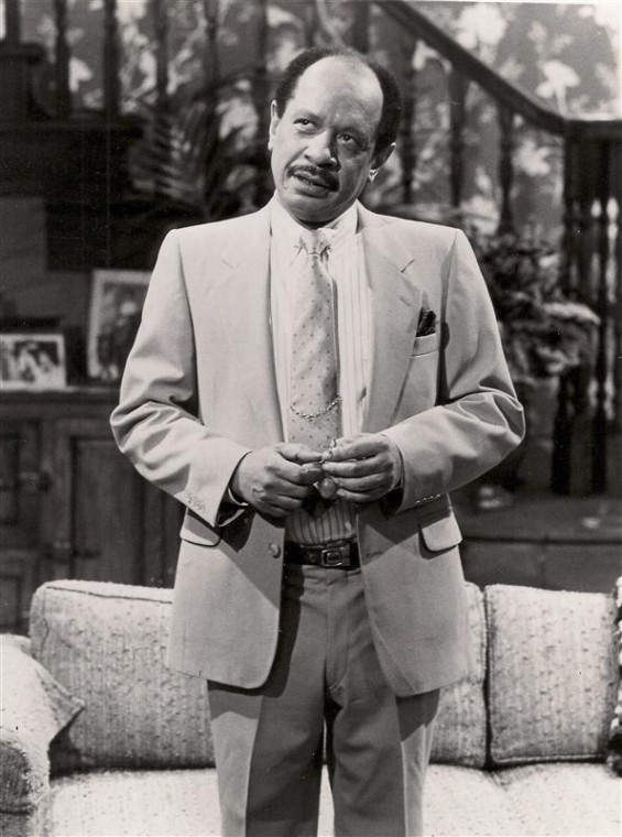 "Actor Sherman Hemsley portrays character Deacon Ernest Frye in the television comedy series ""Amen"" in this undated publicity photograph. REUTERS/Universal City Studios/Handout"