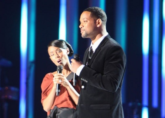 Will Smith and Jada Pinkett Smith at The Nobel Peace Price Concert 2009