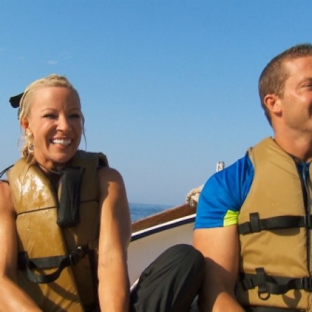 Jim and Misti on 'The Amazing Race'