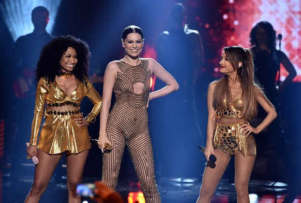 Nicki Minaj, Jessie J, Ariana Grande