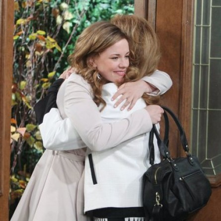 Maggie reunites with Melanie--who does hr best to cover up a secret on the Nov. 24, 2014 episode of 'Days of Our Lives'