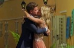 "Emily Maynard and Jef Holm on ""The Bachelorette"" finale Sunday july 22, 2012."