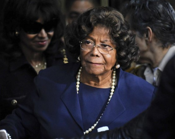 Michael Jackson's mother Katherine Jackson leaves the sentencing hearing of Dr. Conrad Murray, who was convicted of involuntary manslaughter in the death of pop star Michael Jackson, in Los Angeles, C