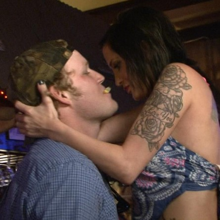 Magan and Duke heat things up on the Nov. 27 episode of 'Party Down South 2'
