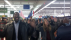 Ferguson Protestors at a Wal-Mart in St. Charles, Mo. during Black Friday sales, Nov. 27 2014