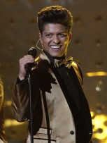 R&B sensation Bruno Mars 