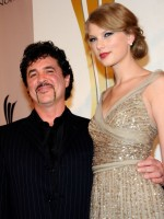 Scott Borchetta and Taylor Swift