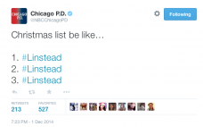 Chicago PD Tweet