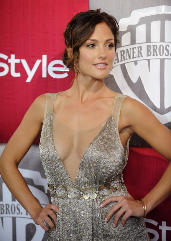 Actress Minka Kelly attends the In Style/Warner Bros Golden Globes after party in Beverly Hills, California January 11, 2009.