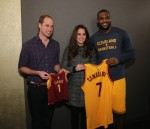 Prince William, Kate Middleton, LeBron James