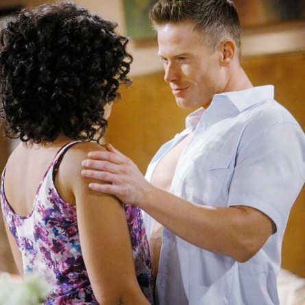 Maya and Rick consider taking action against Ivy after she confronts them about their deception on the Dec. 22, 2014 episode of 'Bold and the Beautiful'