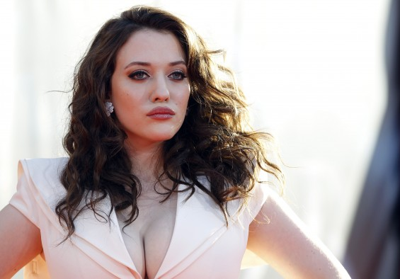 "Kat Dennings, pictured above at the premiere of ""Thor"""