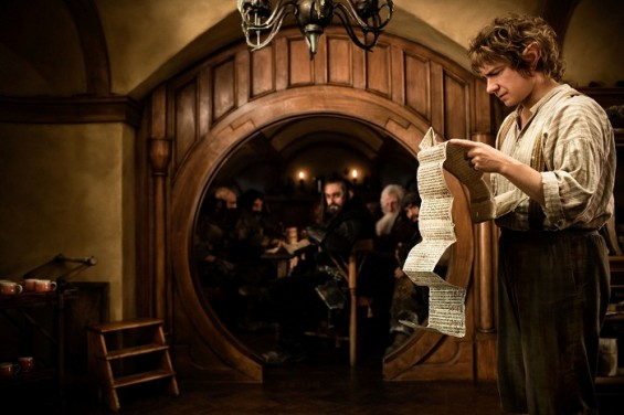 &#034;The Hobbit&#034; movie still. 