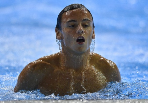 Great Britain diver Tom Daley