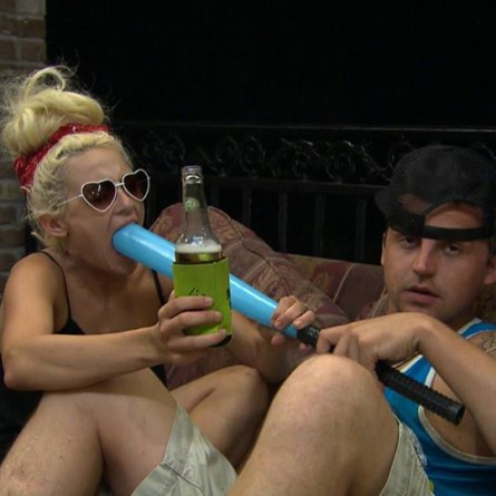 Bradley and Raven on 'Party Down South 2'