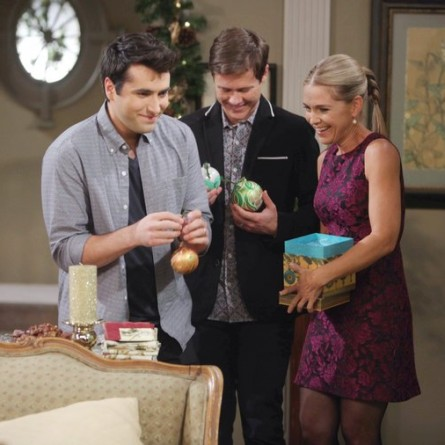 The Hortons continue their annual tradition of hanging their namesake ornaments on the tree--and this year, Sonny gets one too on the Dec. 26, 2014 episode of 'Days of Our Lives'