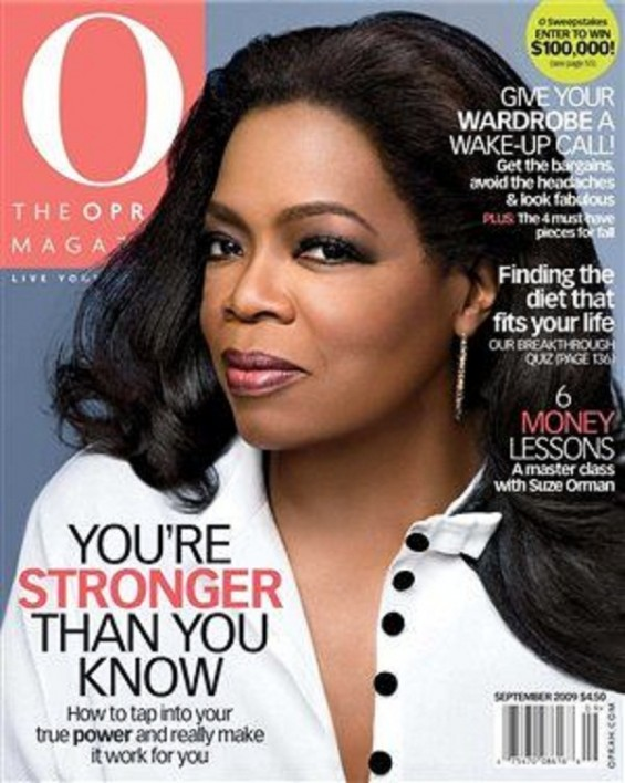 Oprah September cover 2009.