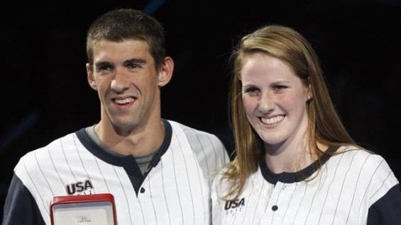 Michael Phelps & Missy Franklin