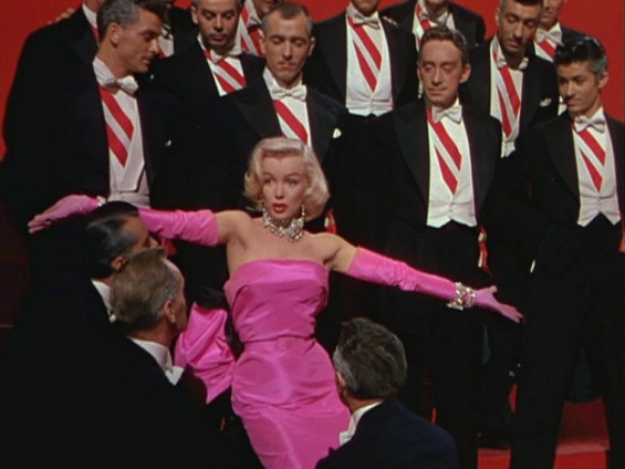 Marilyn Monroe In &#034;Gentleman Prefer Blondes&#034;