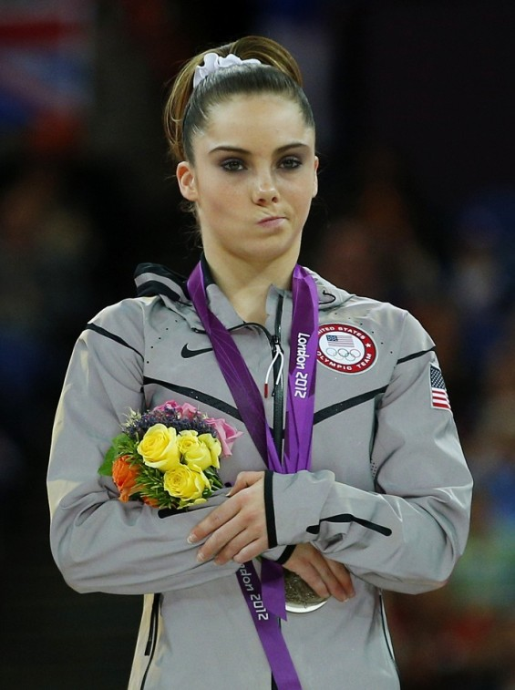 McKayla Maroney wins silver at the vault finals at the London Gamesw