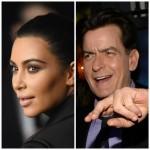 Kim Kardashian, Charlie Sheen