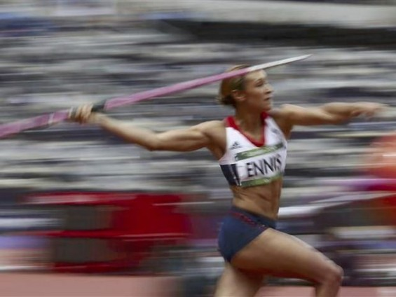 Javelin, Jessica Ennis