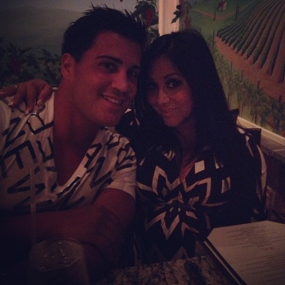 Snooki and fiancee 