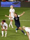 The U.S. women&#039;s soccer team move on to the finals after beating Canada 4-3