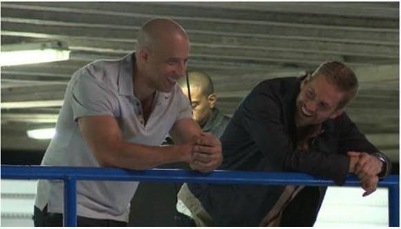 Paul Walker Dressed as Vin Diesel Vin Diesel And Paul Walker
