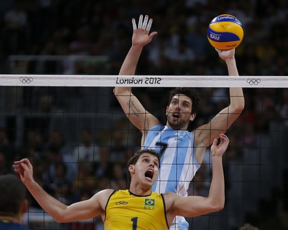 Men&#039;s volleyball quarterfinals for the Olympic Games play out on Aug. 8
