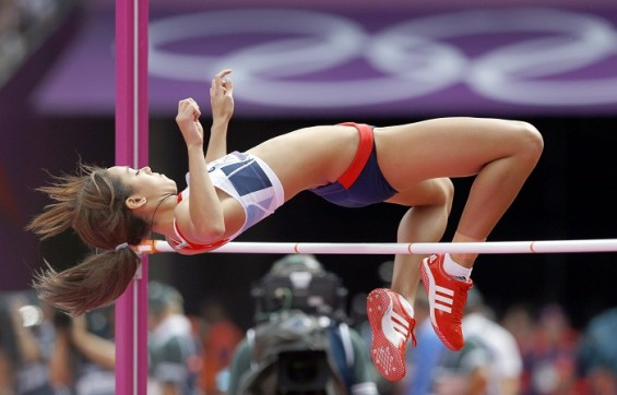 Women&#039;s high jump finals, live on Aug. 8