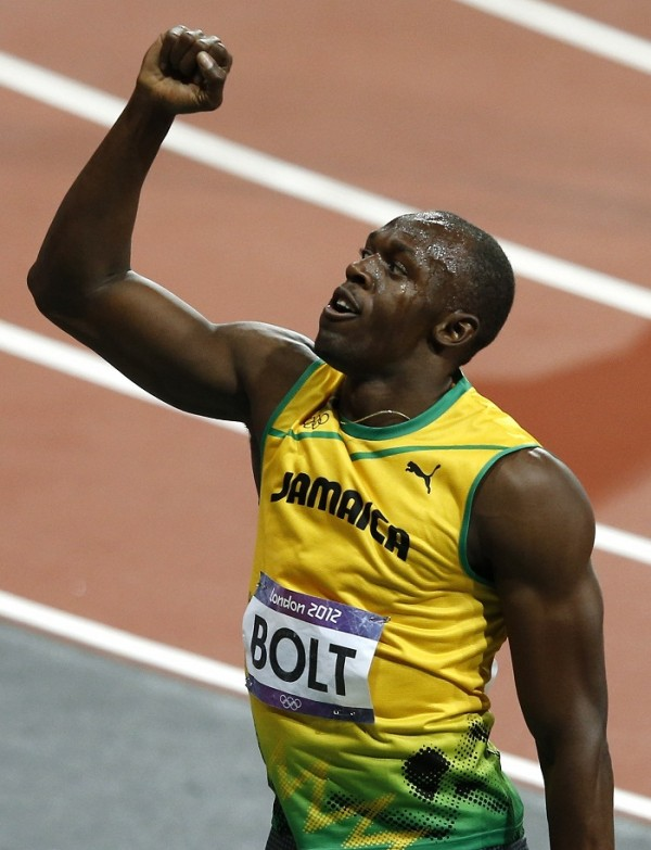 Jamaica's Usain Bolt Goes for the gold