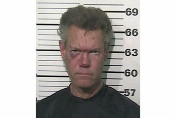Randy Travis August 2012 Mug Shot