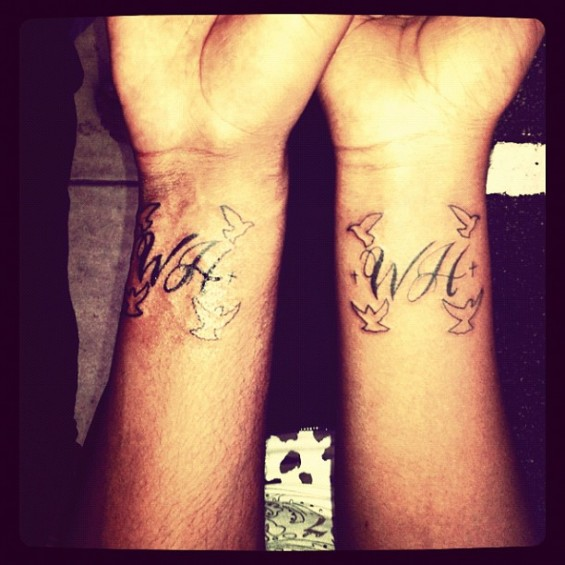 Whitney Houston's Daughter Bobbi Kristina Tattoos