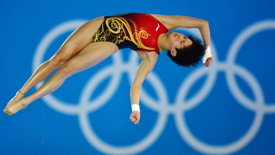 China's Chen Ruolin wins 10-meter platform gold at the 2012 Olympics