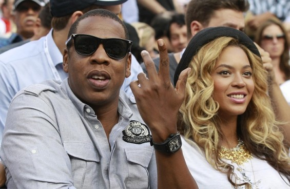 11. Rapper Jay-Z and his wife, singer Beyonce