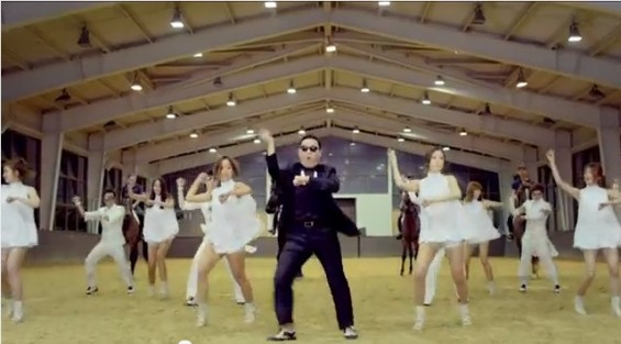 A chubby, rapping singer with slicked-back hair and a tacky suit is the latest musical sensation to burst upon the world from South Korea, via a YouTube music video that has been seen by over 20 milli