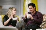 Bill defends Caroline against Maya & Rick on the January 19, 2015 episode of 'The Bold and the Beautiful'