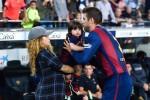 Shakira, Gerard Pique & Son Milan