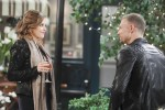 Brady is concerned when he spies Theresa with her new beau, Clint on the January 21, 2015 episode of 'Days of Our Lives'